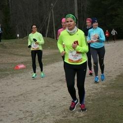 Sportland Kõrvemaa Kevadjooks - Annika Brikkel (1014), Aimi Murumäe (1129), Triinu Rannala (1165)