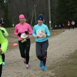 Sportland Kõrvemaa Kevadjooks - Jüri Eek (1017), Aimi Murumäe (1129)
