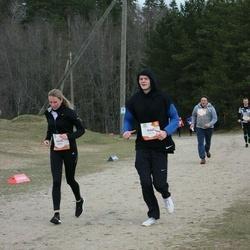 Sportland Kõrvemaa Kevadjooks - Nelli Balakireva (1012), Raul Liivrand (1115)