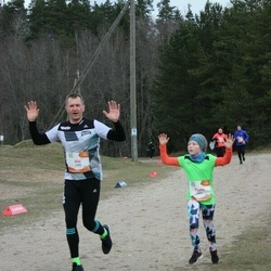Sportland Kõrvemaa Kevadjooks - Ain Kurvits (1084), Berta Kurvits (1085)