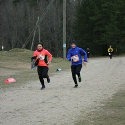 Sportland Kõrvemaa Kevadjooks - Aron Altmets (1004), Ruth Trääder (1199)