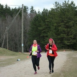 Sportland Kõrvemaa Kevadjooks - Kadi Ennok (1018), Maarja Nigol (1133)