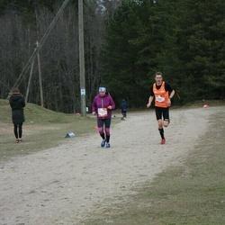 Sportland Kõrvemaa Kevadjooks - Tõnu Lillelaid (109), Kristiina Ladvas (1092)