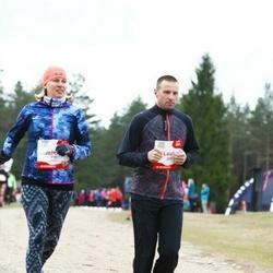 Sportland Kõrvemaa Kevadjooks - Lauri Veso (269), Jelena Veso (270)