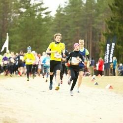 Sportland Kõrvemaa Kevadjooks - Mark Abner (1001), Luna-Aleksandra Lagoda (1094)