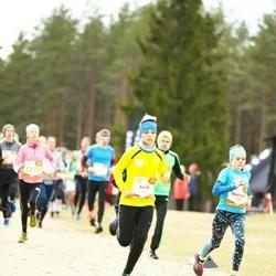 Sportland Kõrvemaa Kevadjooks - Eerik Hudilainen (1029), Meri-Lill Plagnaud (1155)