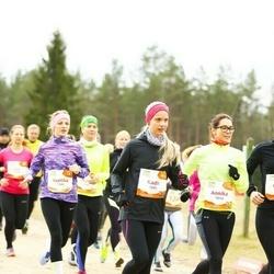 Sportland Kõrvemaa Kevadjooks - Annika Brikkel (1014), Kadri Käesel (1091)