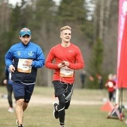 Sportland Kõrvemaa Kevadjooks - Hans Noormets (1134), Alen Stepanjan (1188)