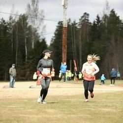 Sportland Kõrvemaa Kevadjooks - Triin Kunart (1079), Margit Käbin (1090)