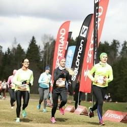 Sportland Kõrvemaa Kevadjooks - Annika Brikkel (1014), Kadri Käesel (1091), Triinu Rannala (1165)