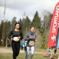 Sportland Kõrvemaa Kevadjooks - Alice Heinmets (1232), Regina Krukovskaja (1246)
