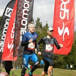 Sportland Kõrvemaa Kevadjooks - Christopher Kalev (55), Priit Kingo (68)