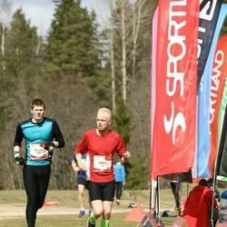 Sportland Kõrvemaa Kevadjooks - Mikk Kalamees (53), Aron Ott (162)