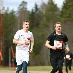 Sportland Kõrvemaa Kevadjooks - Janar Leo (99), Ander Leo (100)
