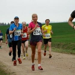 89. Suurjooks ümber Viljandi järve - Henn Zvorovski (263), Anneli Vaher (274)