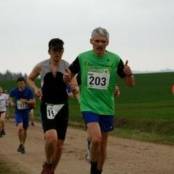 89. Suurjooks ümber Viljandi järve - Mati Koppel (203), Brit Rammul (688)