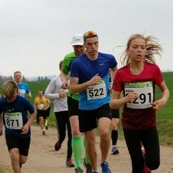 89. Suurjooks ümber Viljandi järve - Marek Meiesaar (522), Sander Šinkartšuk (871), Adele Tamberg (2291)