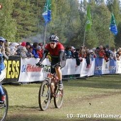 10. Tartu Rattamaraton - Alar Just (2864), Sten Saarnits (4180)