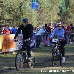 10. Tartu Rattamaraton - Ando Jukk (5334), Aigi Ermel (5347)
