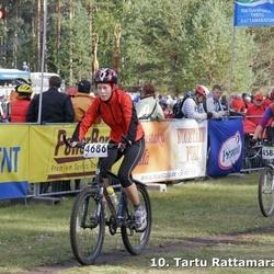 10. Tartu Rattamaraton - Marili Merendi (4583), Annika Loorits (4686)
