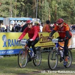 10. Tartu Rattamaraton - Aet Alliksoo (4805), Peeter Oja (4956)
