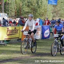 10. Tartu Rattamaraton - Annika Suun (4145), Karmen Märtmaa (4146)