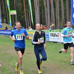SEB 31. Tartu Jooksumaraton - Antti Nöps (215), Aare Viitkin (272), Raiko Palm (638)