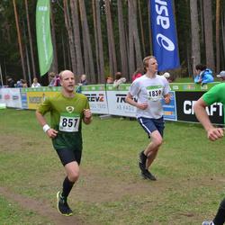 SEB 31. Tartu Jooksumaraton - Mart Ott (199), Ander Raud (857), Leho Mengel (1839)