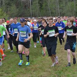 SEB 31. Tartu Jooksumaraton - Bogdan Prokopjuk (4204), Mihkel Hinto (4404), Reelika Laisaar (4467), Mihkel Jäe (4874)