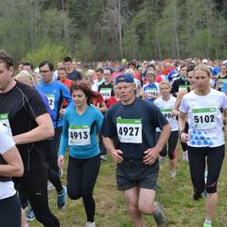 SEB 31. Tartu Jooksumaraton - Annika Vään (4913), Tõnu Henk (4927), Merle Vidder (5102)