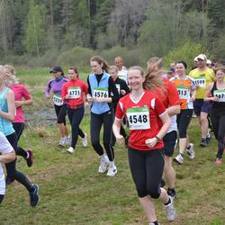 SEB 31. Tartu Jooksumaraton - Aveli Vellerind (4548), Laura Kõrgvee (4576), Anna Stepanova (5237)