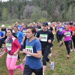 SEB 31. Tartu Jooksumaraton - Anastasiia Inkina (4772), Veiko Jääger (5191), Irina Usakova (5262)