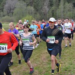 SEB 31. Tartu Jooksumaraton - Andres Rootsi (5138), Indrek Laasma (5261), Anna-Liisa Pärnalaas (5372)