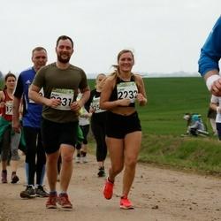 89. Suurjooks ümber Viljandi järve - Andre Soilts (2231), Carol Topper (2232)