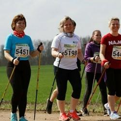 89. Suurjooks ümber Viljandi järve - Anneli Sitska (5198), Aire Käo (5449), Lagle Vilu (5451)