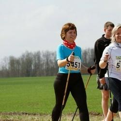 89. Suurjooks ümber Viljandi järve - Anneli Sitska (5198), Lagle Vilu (5451)