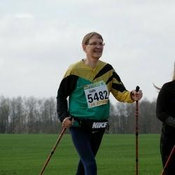 89. Suurjooks ümber Viljandi järve - Vallo Varjo (5482), Anni Varjo (5483)