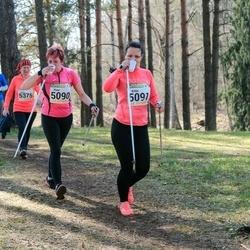 89. Suurjooks ümber Viljandi järve - Piret Liiva (5090), Anita Semjonova (5091)