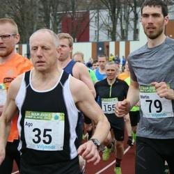 89. Suurjooks ümber Viljandi järve - Ago Veilberg (35), Martin Kalmus (79)