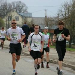 89. Suurjooks ümber Viljandi järve - Tanel Leisalu (153), Arno Bester (201), Kaspar Taimsoo (222)