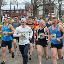 89. Suurjooks ümber Viljandi järve - Allar Soo (17), Ago Veilberg (35), Allan Närripä (62)
