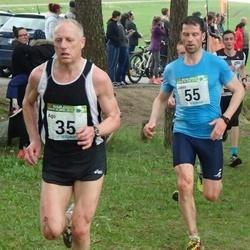 89. Suurjooks ümber Viljandi järve - Ago Veilberg (35), Janis Teteris (55)