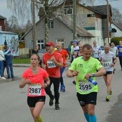 89. Suurjooks ümber Viljandi järve - Andre Kaaver (2595), Mirtti Verbitskas (2987)