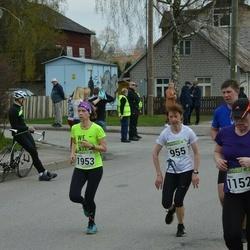 89. Suurjooks ümber Viljandi järve - Eve Tammemäe (955), Andra Rugele (1953)