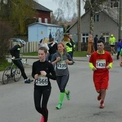 89. Suurjooks ümber Viljandi järve - Aare Allaje (1430), Carmen Niinepuu (2566)