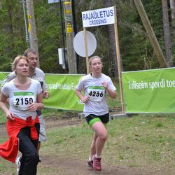 SEB 31. Tartu Jooksumaraton - Kaari Holland (2150), Brita Liivamaa (4236)