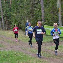 SEB 31. Tartu Jooksumaraton - Moonika Soosaar (4530), Meelis Nairis (4531), Arko Kurg (4689)