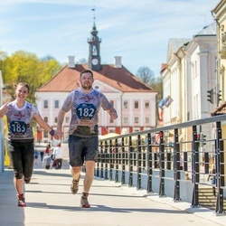 Vägilase jooks Tartu - Aleksei Safjanov (182), Anna Markova (183)