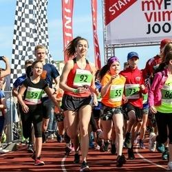 MyFitness Viimsi Jooks - Patrik Tobias Pindma (54), Meri-Lill Plagnaud (55), Loreen Rande (59), Simon Sildre (73), Janika Vilde (92)