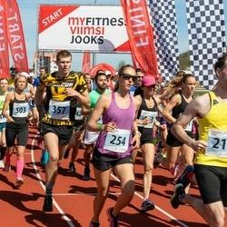 MyFitness Viimsi Jooks - Jan Dubrovski (217), Tiina Kala (254), Aron Ott (357), Helina Rundu (503)